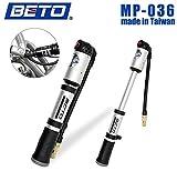Beto 2-Stage Reifen- und Dämpferpumpe Fahrradpumpe Minipumpe