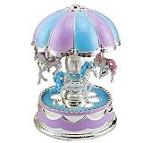doco Oler romántica luz LED Dome tiovivo parte Reloj San Valentín Regalo Decoración