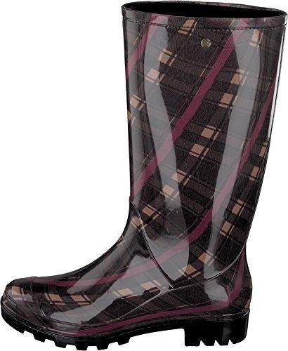 Gosch Shoes Sylt - Damen Langschaft Gummistiefel 7101-502-851 aubergine Aubergine