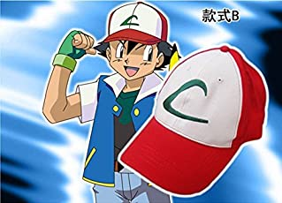 Hooriyas Unisex Pokemon Ash Cap