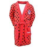 Ladybug - Peignoir - Robe de chambre Miraculous Ladybug rouge Taille de 3 à 8 ans - 8 ans
