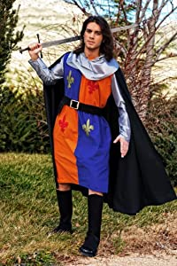 Limit Sport - Disfraz medieval de guerrero Lys, para adultos, talla M (MA596)
