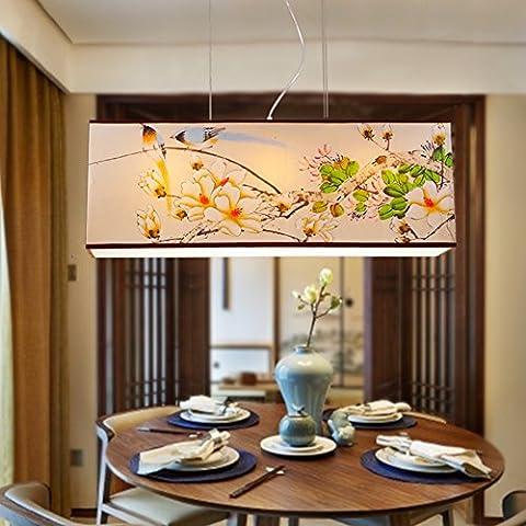 Restaurant chinois lustre classique/lumières rectangulaires Hôtel Club/chevet/Lampe de table de bar