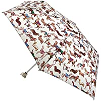 Cath Kidston Dogs Folding Umbrella Dog Head Minilite Handbag Size & Cover 8F3741