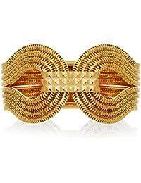 Lara Bohinc l'or 22 Carats Gagarin Bracelet en Laiton plaqué
