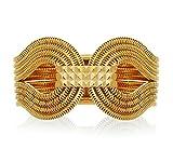 Lara Bohinc 22ct Gold Plated Brass Gagarin Bracelet