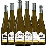 ALBERT BESOMBES Muscadet Sevré/Maine sur Lie Vin Blanc Sec AOP 75 cl - Lot de 6