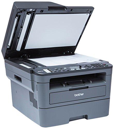 Brother MFCL2710DW   Impresora multifunción láser monocromo con fax e impresión dúplex (30 ppm, USB 2.0, Wifi, Ethernet, Wifi Direct, procesador de 600 MHz, memoria de 64 MB) gris