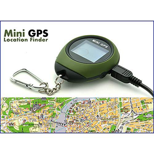 DANG&SHOP Location Finder Mini GPS Positionsfinder GPS-Empfänger GPS Navigation Tracker mit Datensammlung Für Outdoor-Sport von