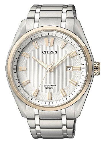 Citizen Relojes Super Titanio 1240Unisex de Eco Drive–aw1244–56A