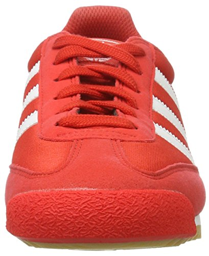 adidas Dragon OG, Sneakers Basses Homme Rouge (Red/Ftwr White/Gum)