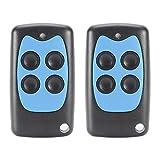 Kreema 2 stücke Fernbedienung Schlüsselanhänger 4 Tasten 433 MHz Code Cloning Universal Sender YET2111 für Garagentor Tor Alarm Smart Home Control