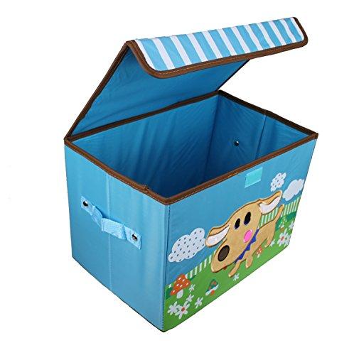 Diseño Juguete Caja ciervo 38cm x 26cm x 27cm caja juguete caja almacenamiento Contenedores Niños Muebles perro