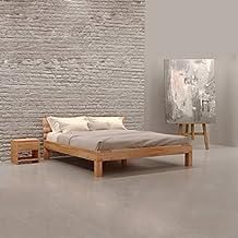 Krok Wood Julia Massivholzbett In Buche 200 X 220 Cm FSC 100% Massiv  Doppelbett,