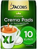 Jacobs Krönung Crema XL, 10 Kaffeepads (120g), 10er Pack (10 x 120 g)