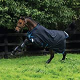 Horseware Amigo Bravo 12 lite Disc 100g Regendecke Navy with Navy & Electric Blue (145)