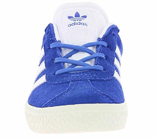 adidas Unisex-Kinder Gazelle Sneaker Blau