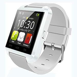 JINTO U Watch U8 plus Smartwatch U8L wrist watch for android and IOS smartphones White