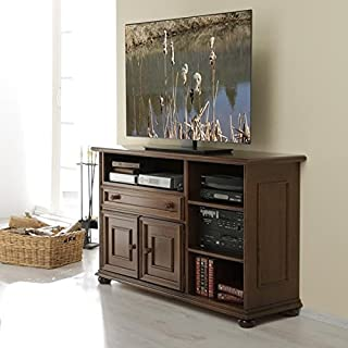 TV- / Phonomöbel III Verona nussbaum antik gebeizt von Albero Möbel