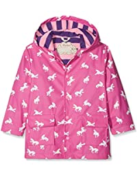 Hathi Girls Raincoat -Butterflies - Chaqueta de Manga Larga para niña