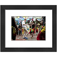 Framed 10x8 Print of Prince Harry visit to Jamaica - Day One (10418812)