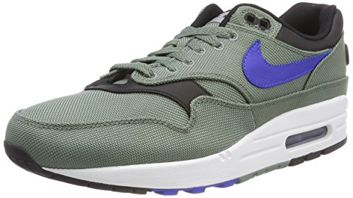 info for 081a4 1c981 Nike Air Max 1 Premium, Chaussures de Gymnastique Homme, Vert (Clay Green