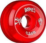 Bones Jeu de 4 Roues de Skateboard Spf P5 Clear Natural 58mm