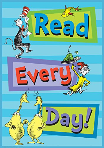 Paper Magic Educational Dr. Seuss Lesen jeder Poster (837083) (Dr Seuss Halloween)