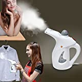 #9: Cartshopper Handheld Garment Fabric Steamer Facial Steamer for Clothes and Face, Portable Powerful Steamer with Fast Heat-up Perfect for Home Travel (Colour May vary)