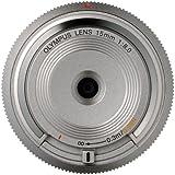 Olympus V325010SE000 Objectif optique pancake 15 mm Argent