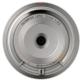 Olympus 15 mm f:8 - Objetivo para Micro Cuatro tercios (Diámetro de Filtro 56 mm), Color Plateado (B00CPLQB46) | Amazon Products