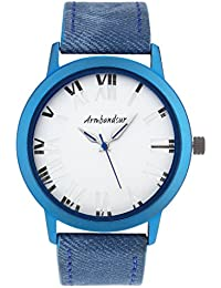 Armbandsur Analog Turquoise & transparent case and back Watch-ABS0010MTTT