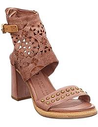 A.S. 98 Sandali Donna Pelle Quarzo 589008 galeotti-calzature marroni Pelle