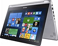 Newest Samsung Spin 2-in-1 Touchscreen Flagship Premium 15.6 FHD Gaming Laptop PC  Intel Core i7-7500U  NVIDIA GeForce 940MX Graphics  16GB RAM  1TB HDD  HDMI  Stereo Speakers  Webcam  Windows 10