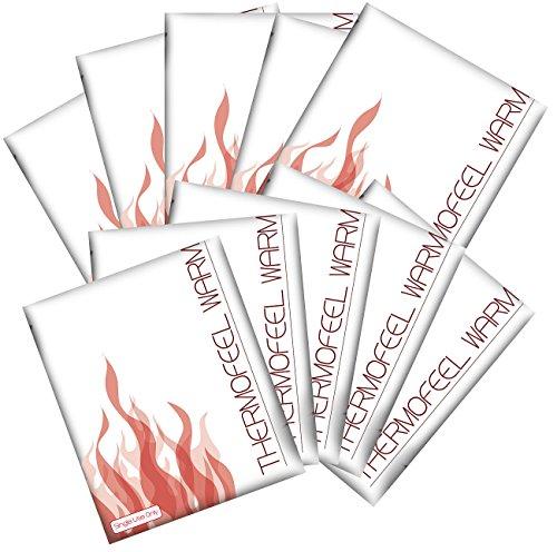 newgen medicals Wärme-Kissen: Sofort-Wärmekompressen im 10er-Vorteilspack (Wiederverwendbare Taschenwärmer)