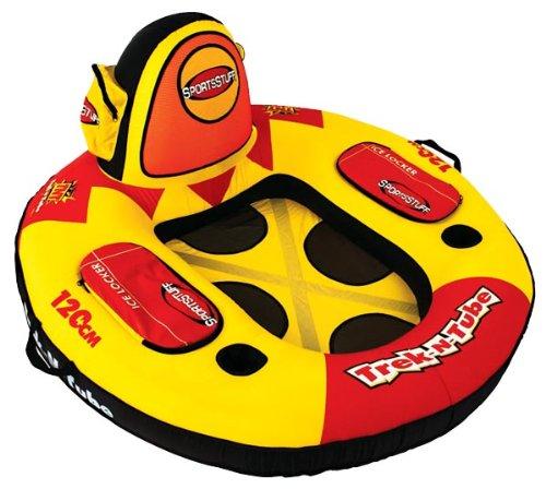 SportsStuff 52–1501Trek N Tube 1-rider aufblasbar Marine Lounge