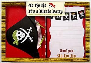 Meri Meri - Tarjetas de invitación y Agradecimiento, diseño de Pirata