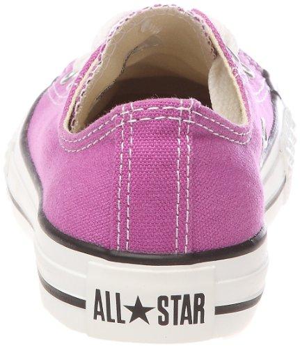 Converse Ctas Season Ox, Baskets mode mixte enfant Violet (Violet Clair)
