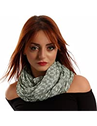 Damen Schal Halstuch mit Mandala-Muster One Size fits all