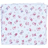 Advance Baby Stuff Jam White With Red Print Plastic Sheet - Large (White)