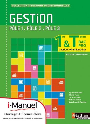 Gestion - Pôles 1 à 3