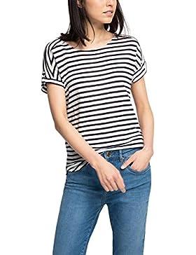 ESPRIT - 056ee1k013 - Striped, T-Shirt Donna