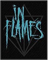 IN FLAMES - Jesterhead - Scratch Logo - Patch / Aufnäher
