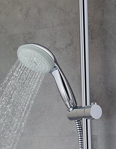 Grohe – Tempesta Flex 180 Duschsystem mit Umstellung, Chrom - 5