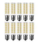 Lampadine E14 LED RANBOO 7W Equivalente a 60W Lampada Alogena 450 LM Lampadina LED Small Non Dimmerabile Bianco Calda 3000K 360 Gradi Angolo del Fascio Luce Ceramica Lampadina Confezione da 10