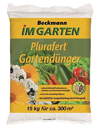 Gartendünger Universal Beckmann Plurafert 15 kg für ca. 300 m²