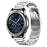 Best Moto 360 Metal Band - Gear S3 Watch Band,Shangpule 22mm Stainless Steel Metal Review