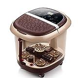 DAFREW Fußbad, Automatische Roller Massage Elektrische Massage Fußmassagegerät Fuß Badewanne