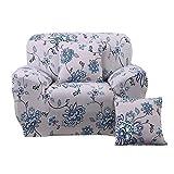 yanyaoo Allzweck-Sofa-Bezug, Stretch, Anti-Rutsch-Stoff, Sofa, Handtuch, Druck, elastisch, Couch-Bezüge a