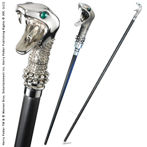 The Noble Collection Lucius Malfoy Cane with Wand (Metall-wand 7)